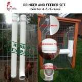 Veritcal Feeder and Drinker Set