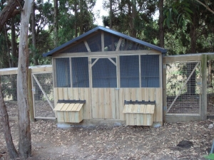 Chicken houses runs custom made by yummy gardens melbourne Better homes and gardens website australia