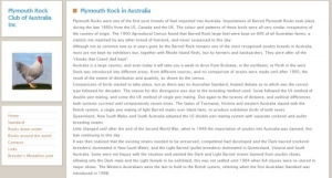Plymouth Rock Club of Australia Inc