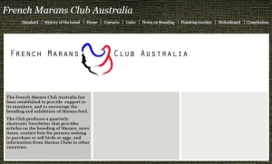 French Marans Club Australia