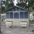 Chicken houses & runs custom made by Yummy Gardens, Melbourne