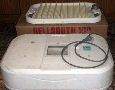 bellsouth 100 incubator instructions